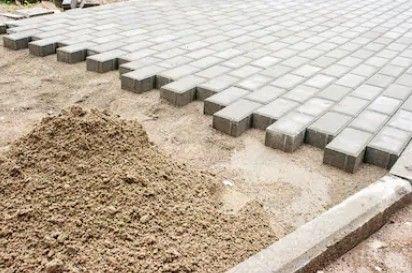 Pavimentação bloquete